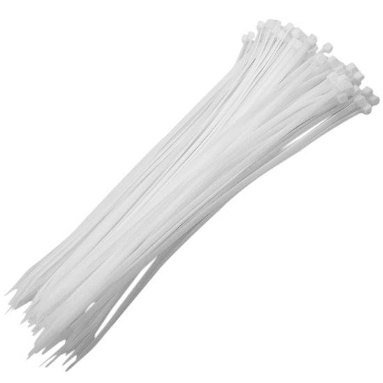 Abraçadeira de Nylon Branca
