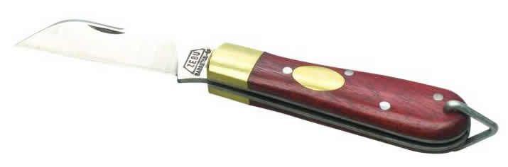 Canivete Zebu Inox 60mm cabo de madeira