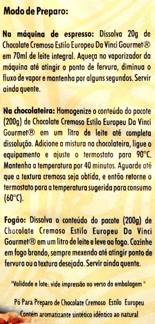 Como Fazer Chocolate Europeu