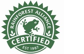 Selo Rainforest Alliance
