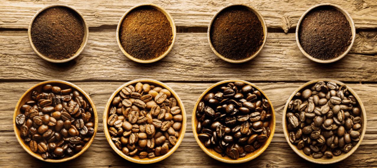 Torra café em Grão