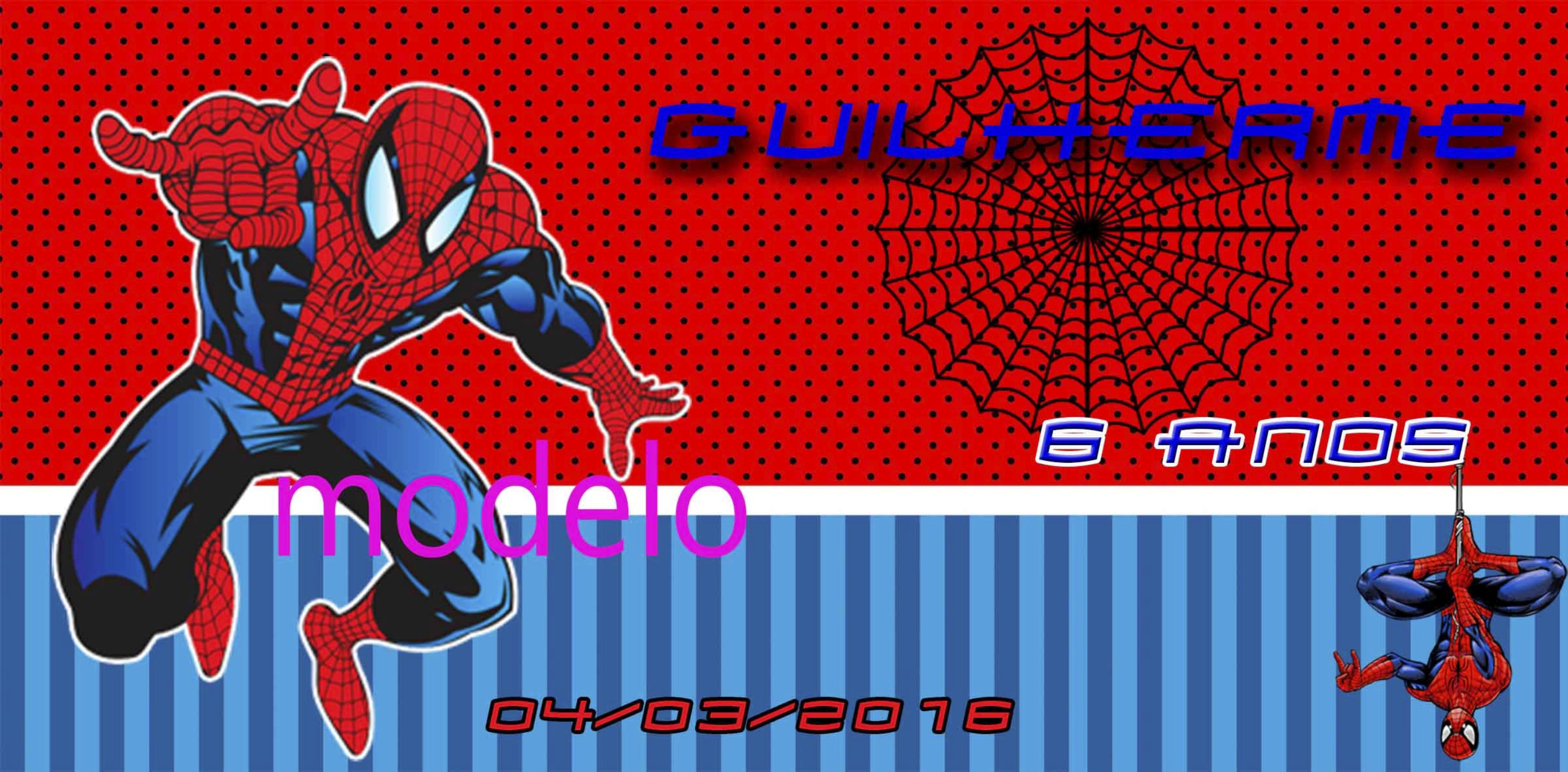 Spiderman Invitation is awesome invitations example