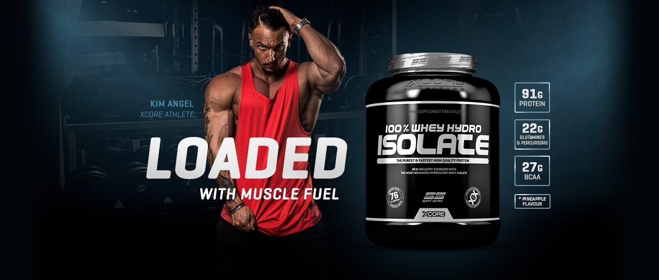 100% Whey Hydro Isolate - Xcore