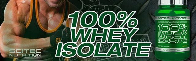 100% Whey Isolate - Scitec Nutrition (Europeia)