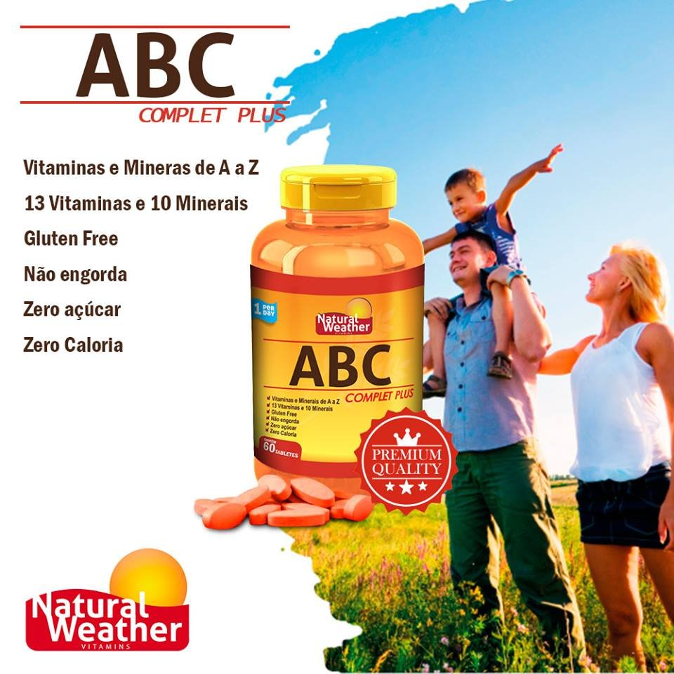 ABC Complet Plus - (60 caps) - Natural Weather