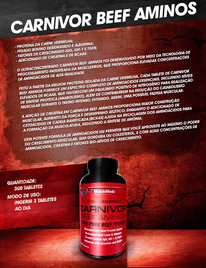 Amino Beef - MuscleMeds