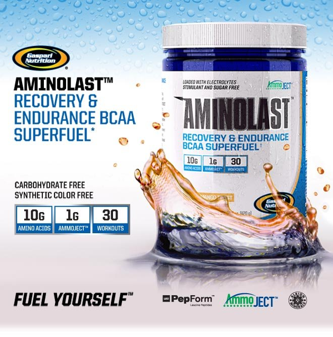 Aminolast - (420g) - Gaspari Nutrition