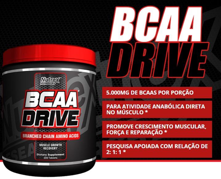 BCAA Drive - (200tabs) - Nutrex