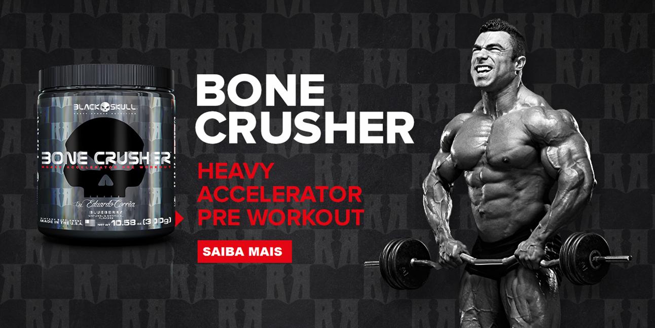 Bone Crusher - Black Skull