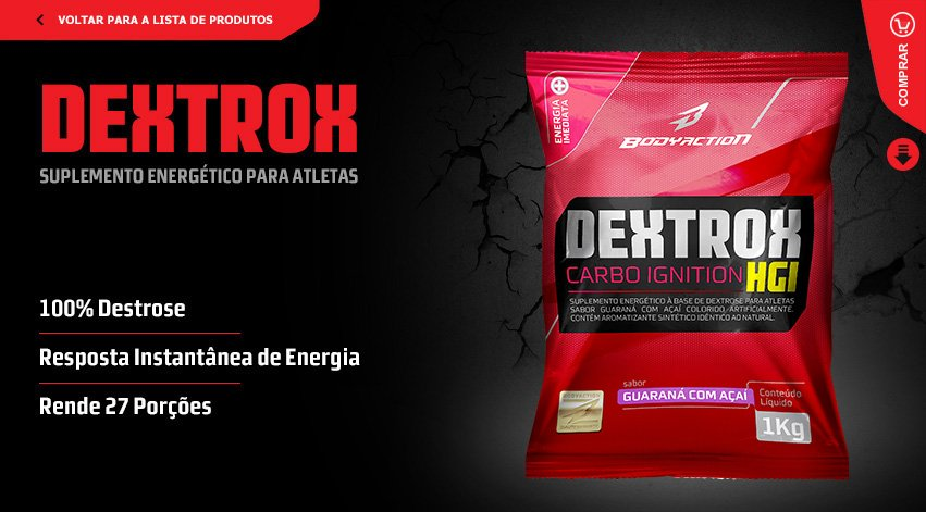 DEXTROX (1kg) - Natural - Body Action