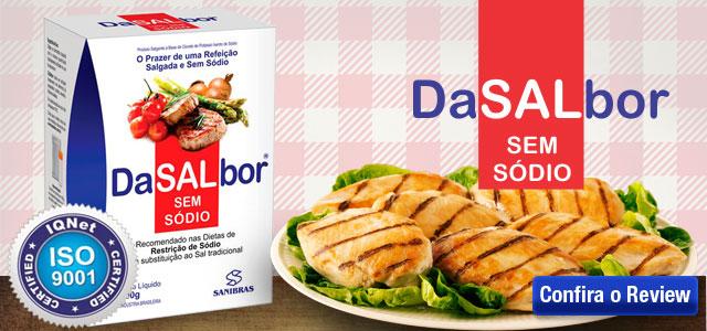 DaSALbor - Sal sem sódio (100g) - Sanibras - Power Supplements