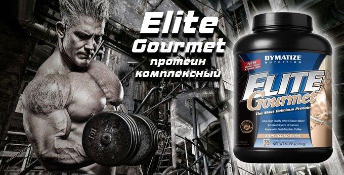 Elite Whey Protein Gourmet - Dymatize Nutrition