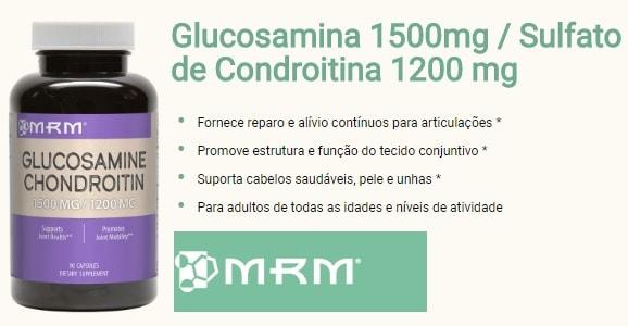 Glucosamina Condroitina MSM - (90 caps) - MRM