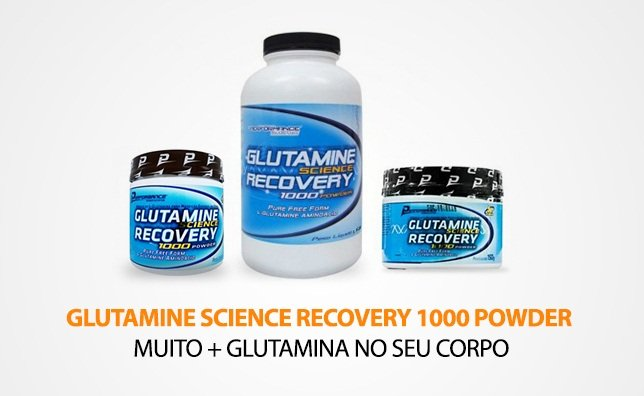 Glutamina Science Recovery - Performance