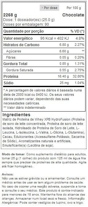 Hydro Fusion - XCore Nutrition