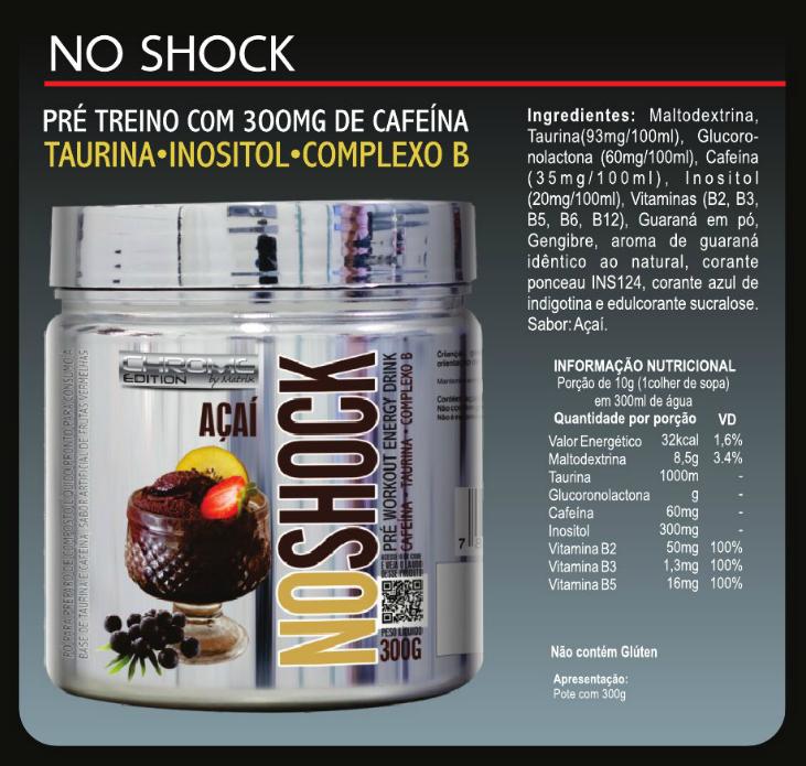 NO Shock (300g) - Chrome Matrix Nutrition