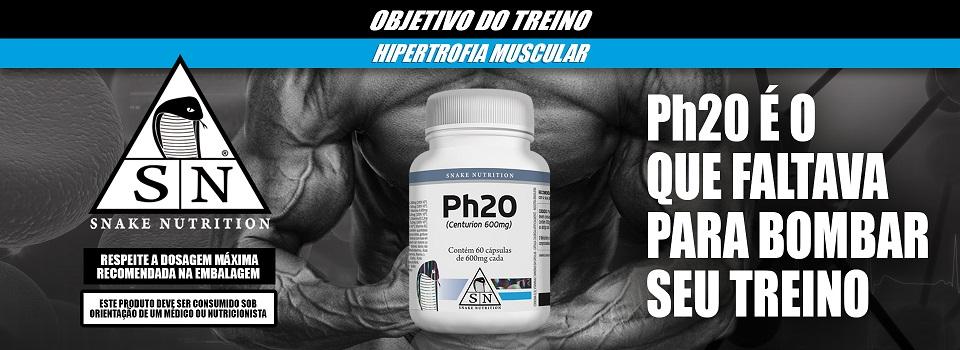 Ph20 - Pró Hormonal - (60caps) - Snake Nutrition