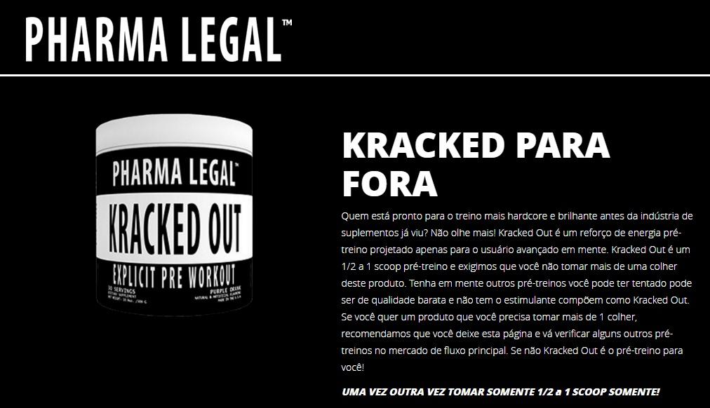 Pré Treino - Kracked Out - (Importado) - Pharma Legal
