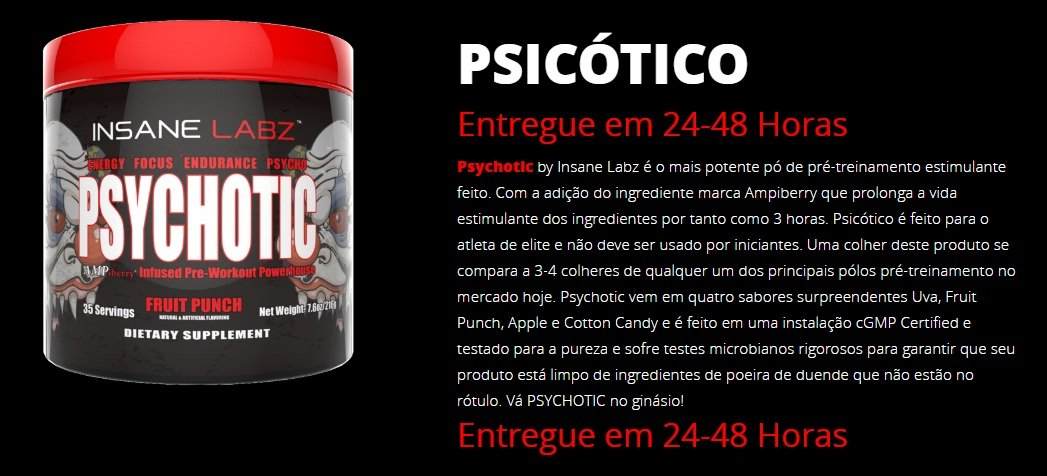 Psychotic (35 doses) - Insane Labs