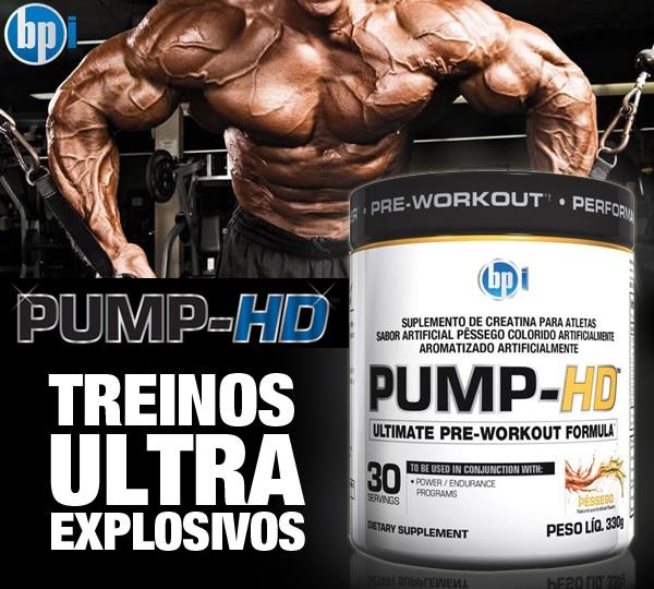 Pump HD (330g) - Pré-Treino Importado - BPI Sports