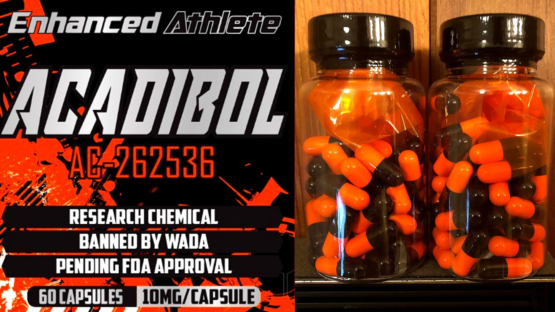 SARMS - Acadibol - 10mg - AC-262536 - (60 Caps) - Enhanced Athlete