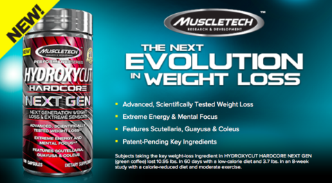 Hydroxycut Next Gen Muscletech