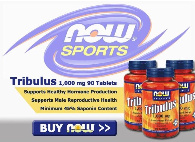 Tribulus Terrestris 1000mg (90 Caps) - Now Sports