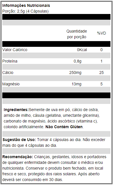 Veinox (120 capsulas) – Pré-treino – Power Supplements