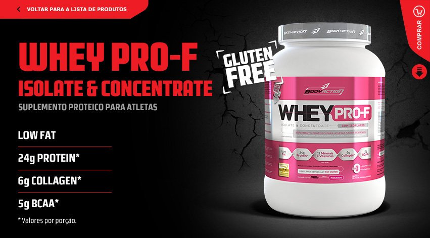 Whey PRO-F - BodyAction
