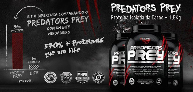 Whey Predators Prey - Xcore Savage