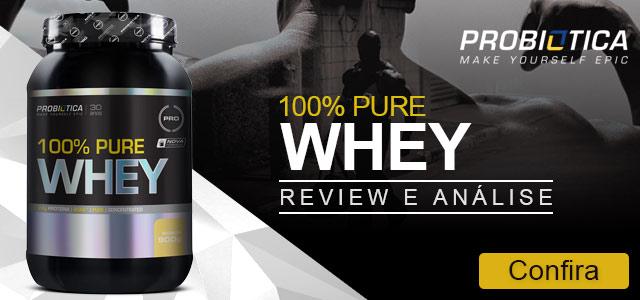 100% Pure Whey Protein - (900g) - Probiótica
