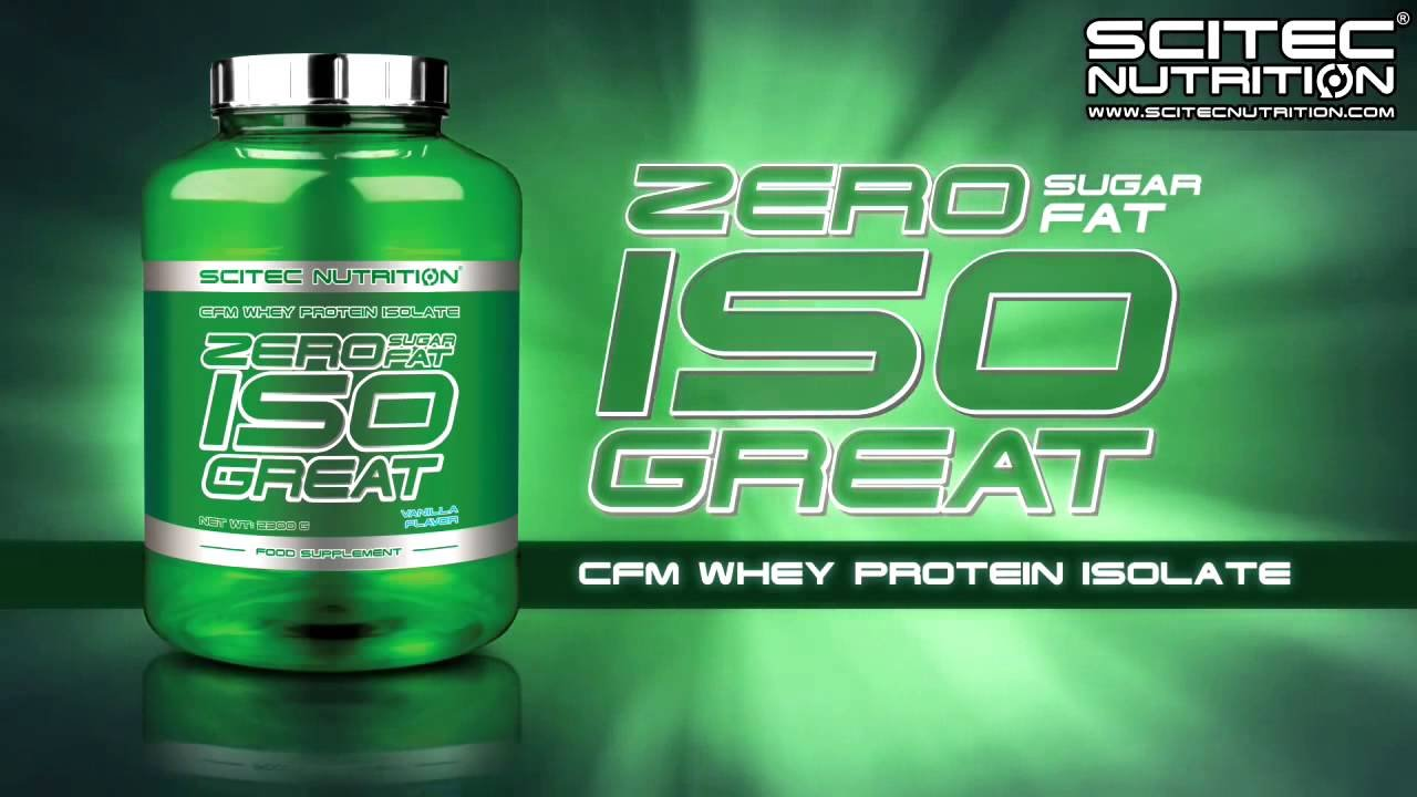 Zero Isogreat - Scitec Nutrition (Europeia)