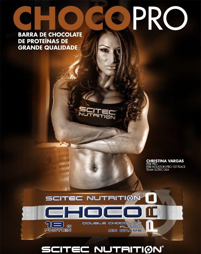 Barra Proteica - Choco Pro (18g de Proteína) - Scitec Nutrition (Europeia)