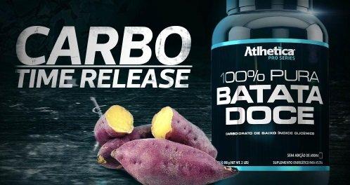 Batata Doce 100% Pura (900g) - Atlhetica Nutrition