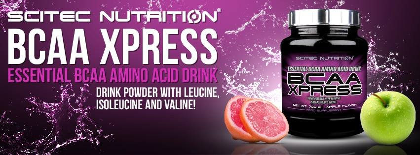 Bcaa Xpress - Scitec Nutrition (Europeia)