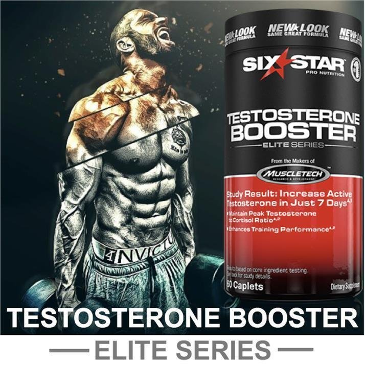 Testosterone Booster - (60 caps) - Six Star Pro Nutrition
