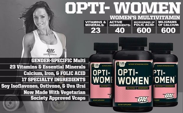 Opti-Women - Multivitamínico - Optimum Nutrition