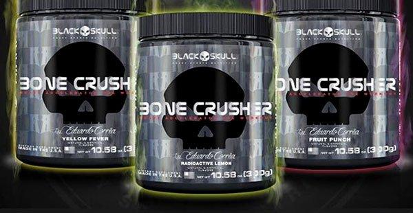 TopWay Suplementos - Bone Crusher 300g - Black Skull - Eduardo Corrêa