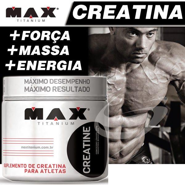 TopWay Suplementos - Creatina 300g - Max Titanium