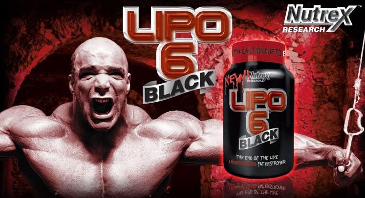 TopWay Suplementos - Lipo 6 Black Ultra Concentrado (60 caps) - Nutrex