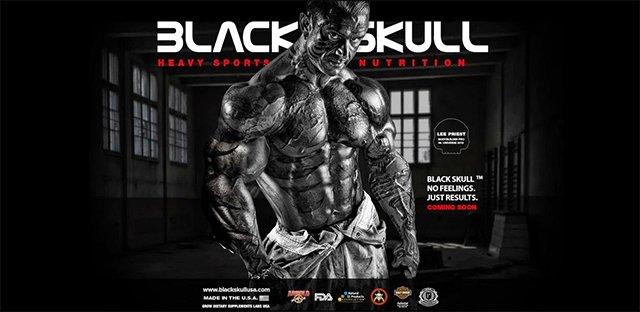 TopWay Suplementos - Bcaa Powder 300g - Black Skull