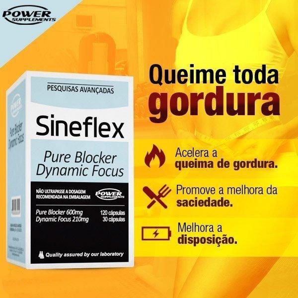 TopWay Suplementos - Sineflex e T-Sek - Power Supplements - Descrição Sineflex