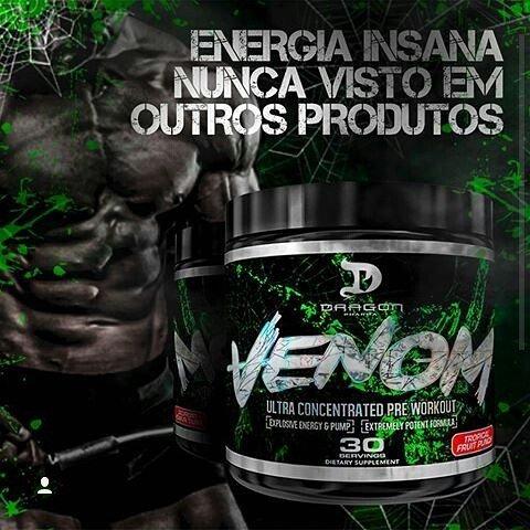 TopWay Suplementos - Venom - 30 Doses - Dragon Pharma
