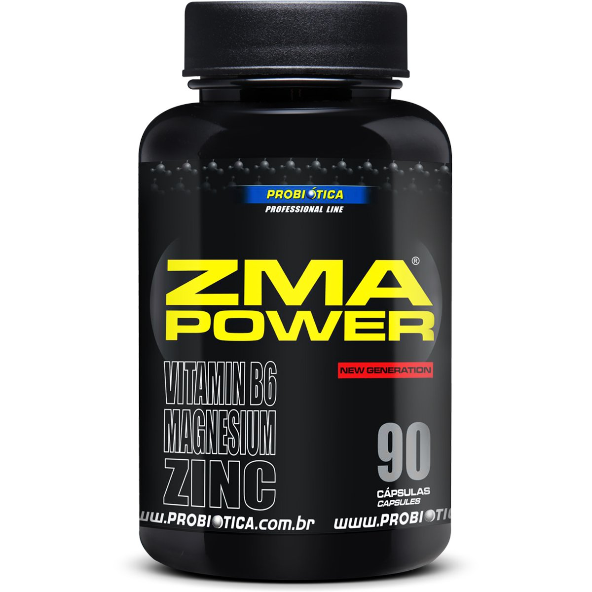 TopWay Suplementos - Zma Power - 90 Capsulas - Probiotica
