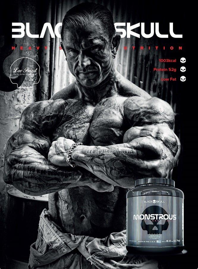 TopWay Suplementos - Massa Monstrous - 2,7kg - Black Skull