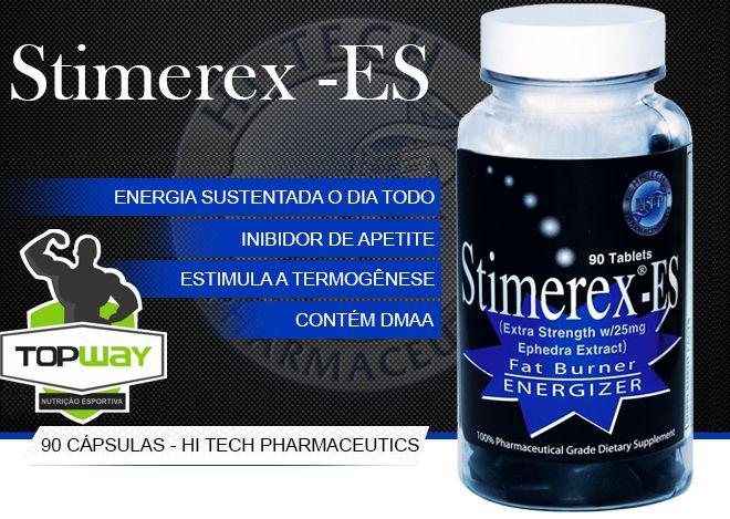 TopWay Suplementos - Stimerex-ES (90 cápsulas) - Hi-tech
