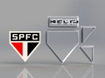 Cortador Time São Paulo Futebol Clube Modular