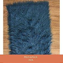 Pelo Alpaca Azul