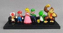 Super Mario Coleção - Mario, Luigi, Peach, Toad, Donkey Kong, Yoshi!