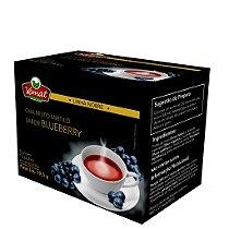 Chá de mirtilo sabor blueberry